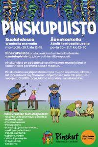 Ääniä Festivaalit - Pinskupuisto @ Äänekoski